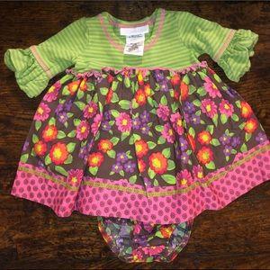 Bonnie Baby 2pc Festive Dress Set